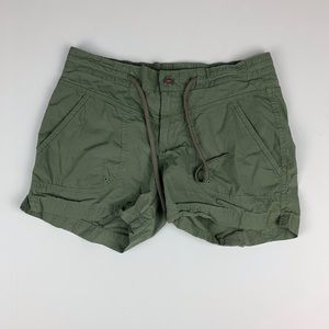 Columbia Women's Olive Green Hiking Shorts Size 2